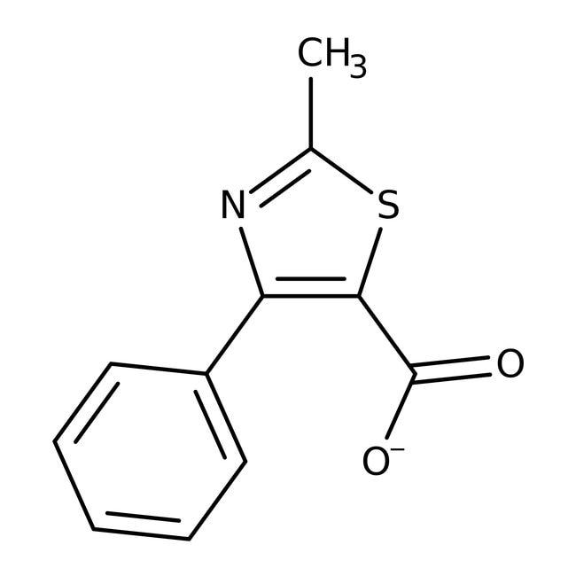 2-Methyl-4-phenyl-1,3-thiazole-5-carboxylic acid, 97%, Maybridge™ Amber Glass Bottle; 1g 2-Methyl-4-phenyl-1,3-thiazole-5-carboxylic acid, 97%, Maybridge™