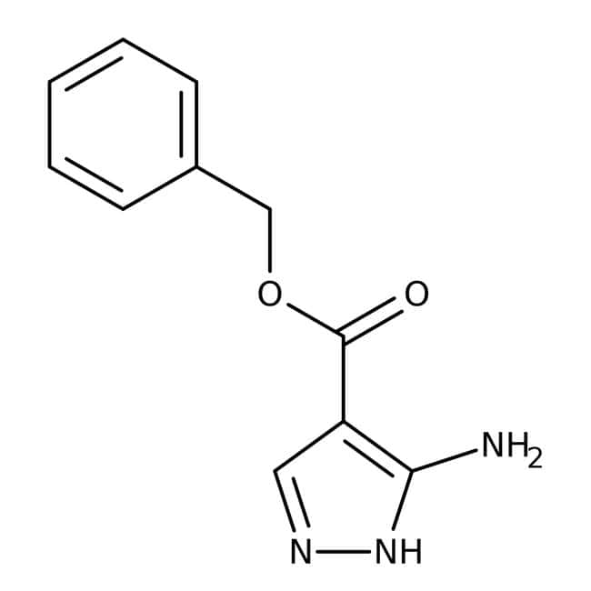 Alfa Aesar™Benzyl5-amino-1H-Pyrazol-4-carboxylat, 98+% 1g Alfa Aesar™Benzyl5-amino-1H-Pyrazol-4-carboxylat, 98+%
