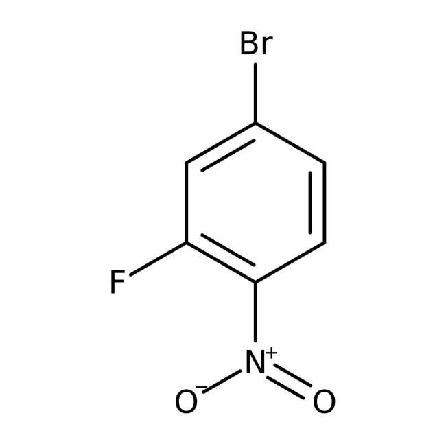 Alfa Aesar™4-Bromo-2-fluoro-1-nitrobenzene, 98% 5g Alfa Aesar™4-Bromo-2-fluoro-1-nitrobenzene, 98%