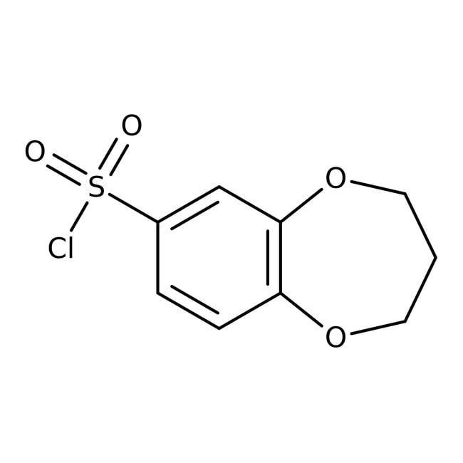 3,4-Dihydro-2H-1,5-benzodioxepine-7-sulfonyl chloride, 97%, Maybridge