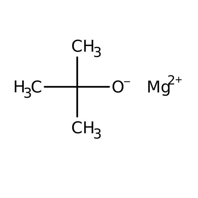 Magnesium tert-butoxide, 93+%, Acros Organics 10g; Glass bottle Magnesium tert-butoxide, 93+%, Acros Organics