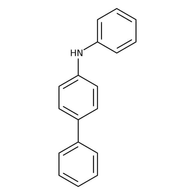 Alfa Aesar™4-(Phenylamino)biphenyl, 98% 5g Alfa Aesar™4-(Phenylamino)biphenyl, 98%