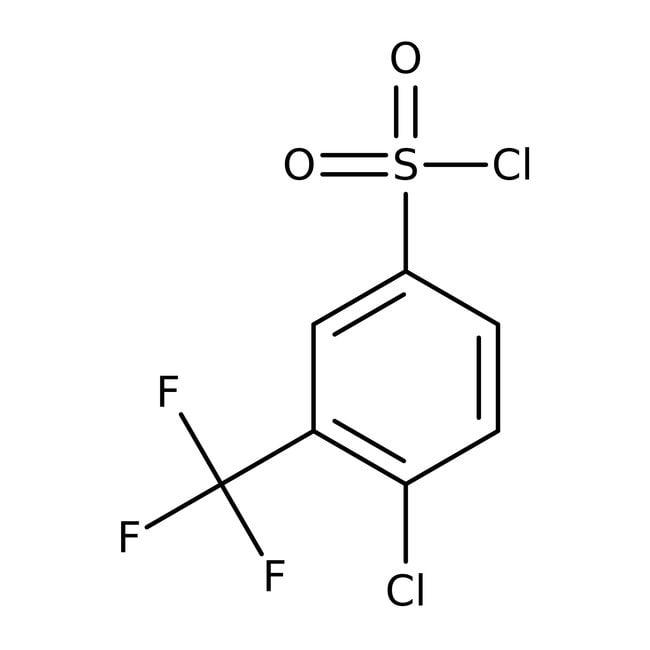 4-Chloro-3-(trifluoromethyl)benzenesulfonyl chloride, 97%, ACROS Organics™