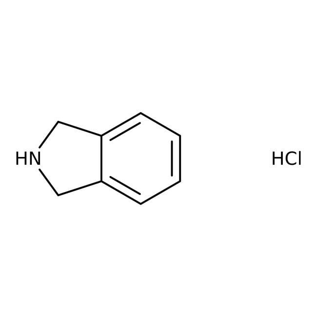 Hydrochlorure d'isoindoline, 97%, ACROS Organics 5g; flacon en verre Hydrochlorure d'isoindoline, 97%, ACROS Organics