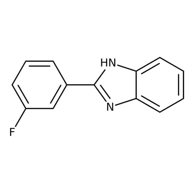 Alfa Aesar™2-(3-Fluorophenyl)benzimidazole, 95% 5g Alfa Aesar™2-(3-Fluorophenyl)benzimidazole, 95%