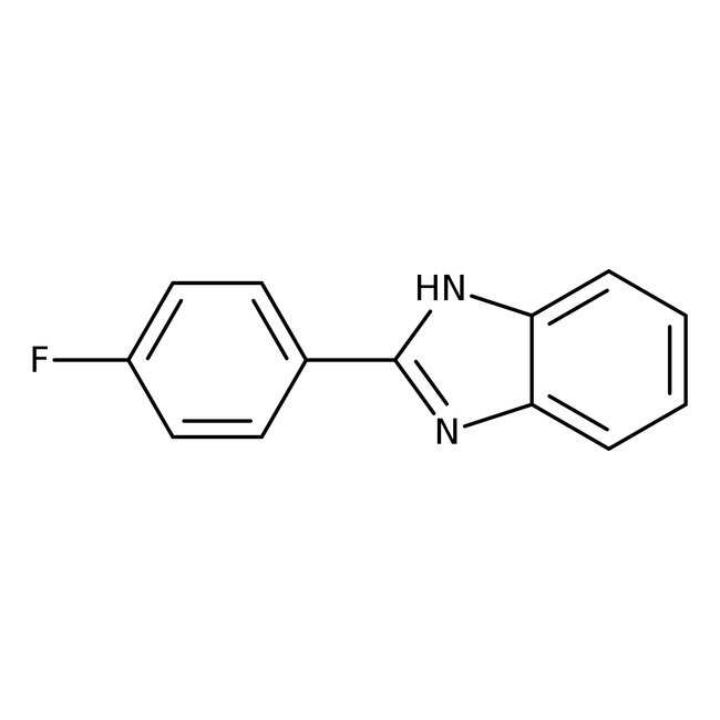 Alfa Aesar™2-(4-Fluorphenyl)-benzimidazol, 95% 250mg Alfa Aesar™2-(4-Fluorphenyl)-benzimidazol, 95%