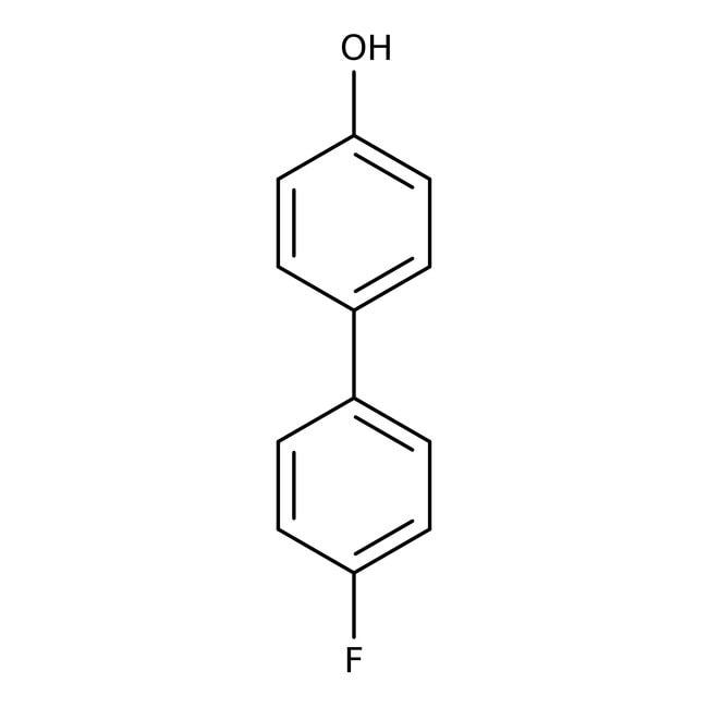 Alfa Aesar™4-Hydroxy-4'-fluorobiphenyl, 98% 5g Alfa Aesar™4-Hydroxy-4'-fluorobiphenyl, 98%