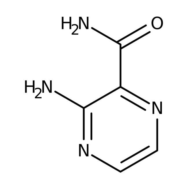 Alfa Aesar™3-Aminopyrazine-2-carboxamide, 96%: Pyrazine carboxylic acids and derivatives Pyrazines