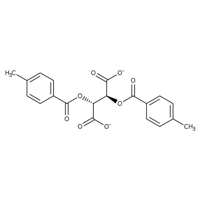 (-)-Di-p-toluoyl-L-tartaric acid, 97%, ACROS Organics™