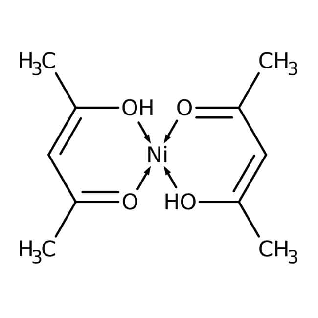 Alfa Aesar™Nickel(II)2,4-pentanedionate, 95% 5g Alfa Aesar™Nickel(II)2,4-pentanedionate, 95%