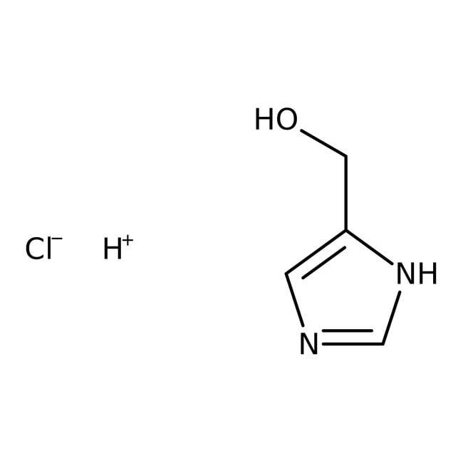 4-(Hydroxymethyl)imidazole hydrochloride, 99%, ACROS Organics