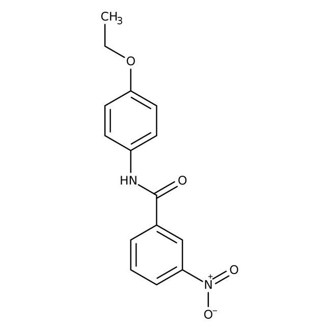 Alfa Aesar™N-(4-Ethoxyphenyl)-3-nitrobenzamide, 97% 250mg Alfa Aesar™N-(4-Ethoxyphenyl)-3-nitrobenzamide, 97%
