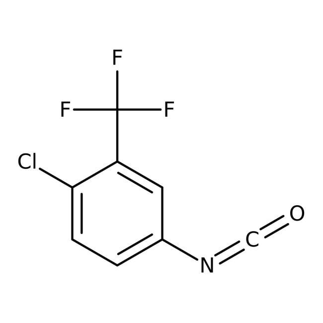 4-Chloro-3-(trifluoromethyl)phenyl isocyanate, 98%, Acros Organics™