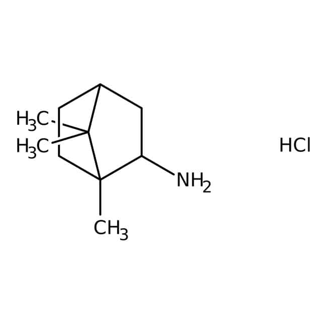 1,7,7-Trimethylbicyclo[2.2.1]heptan-2-amine hydrochloride, 97%, Maybridge™ 10g 1,7,7-Trimethylbicyclo[2.2.1]heptan-2-amine hydrochloride, 97%, Maybridge™
