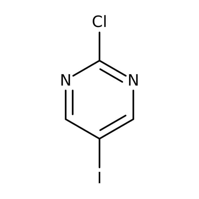 2-Chloro-5-iodopyrimidine, 95%, ACROS Organics™ 250mg 2-Chloro-5-iodopyrimidine, 95%, ACROS Organics™