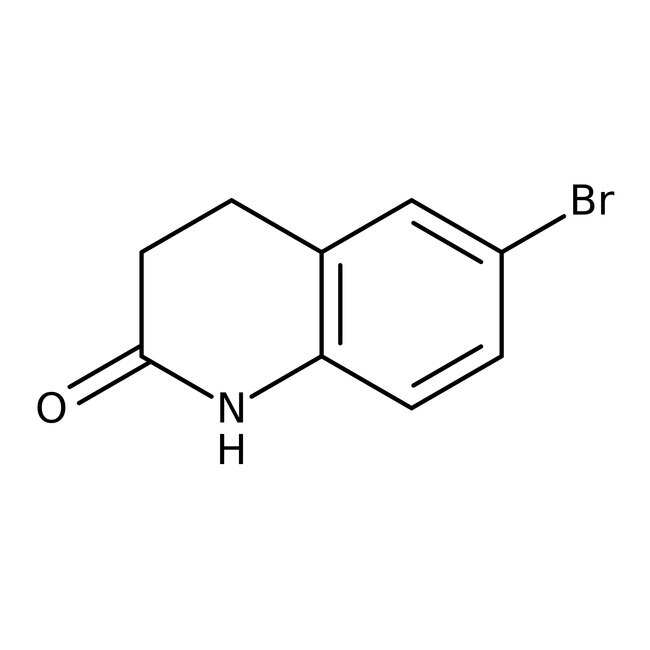 Alfa Aesar™6-Bromo-3,4-dihydro-2(1H)-quinolinone, 98% 5g Alfa Aesar™6-Bromo-3,4-dihydro-2(1H)-quinolinone, 98%
