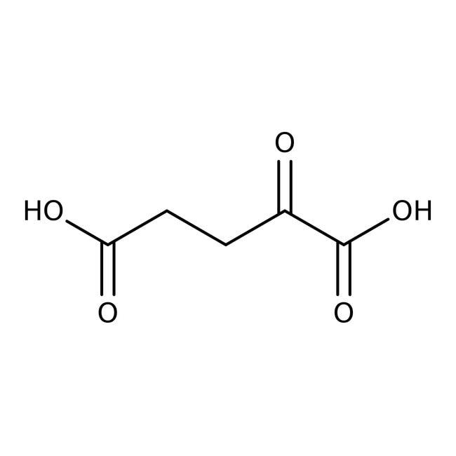 2-Ketoglutaric acid, 98%, ACROS Organics™ 25g; Plastic bottle 2-Ketoglutaric  acid, 98%, ACROS Organics™