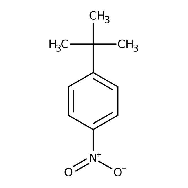 Alfa Aesar™1-tert-butyl-4 -nitrobenzène, 98 % 50g Alfa Aesar™1-tert-butyl-4 -nitrobenzène, 98 %