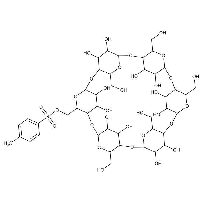 Mono-6-O-(p-toluenesulfonyl)-alpha-cyclodextrin 85.0+%, TCI America™