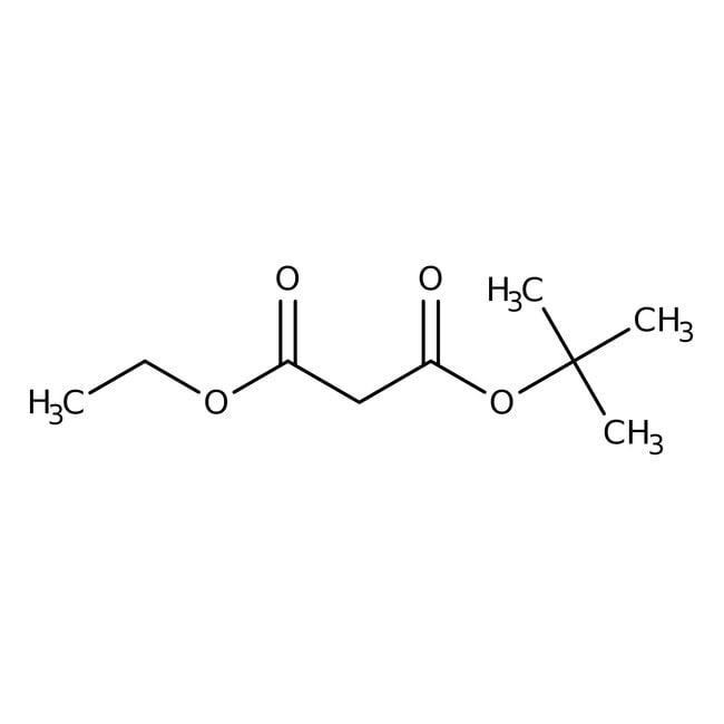 tert-Butyl ethyl malonate, 97%, ACROS Organics™ 25g; Glass bottle tert-Butyl ethyl malonate, 97%, ACROS Organics™