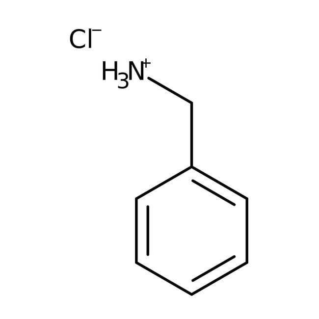 Benzylamine hydrochloride, 99%, ACROS Organics™: Benzene and substituted derivatives Benzenoids