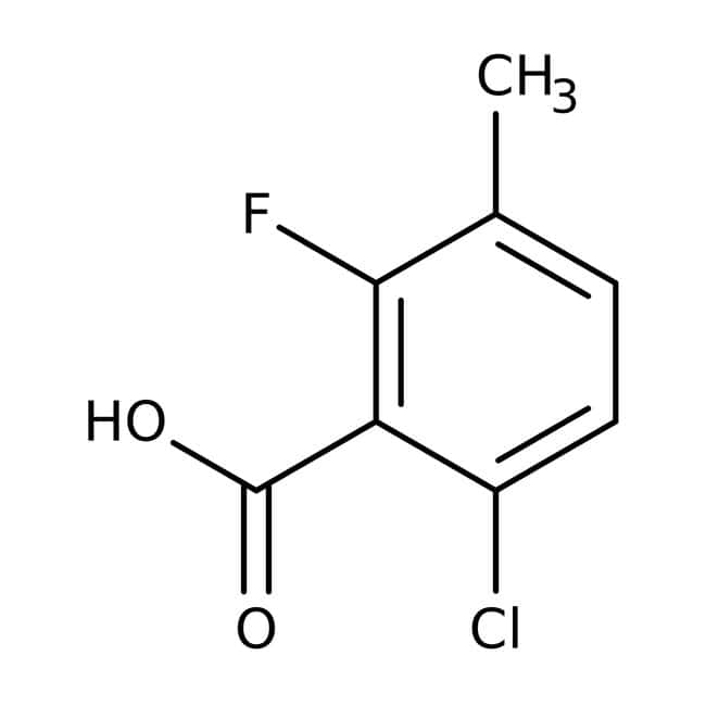 Alfa Aesar  6-Chloro-2-fluoro-3-methylbenzoic acid, 97%