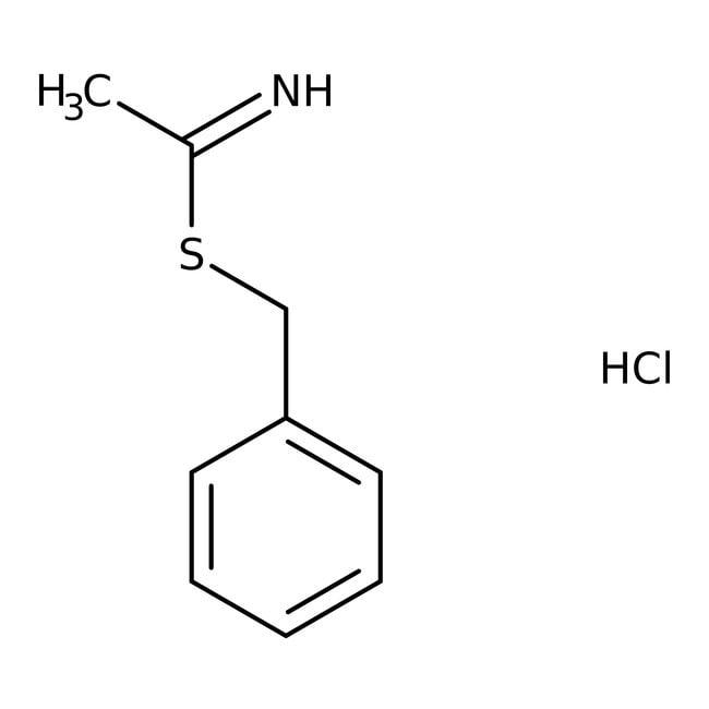 Alfa Aesar™Benzylthioacetimidathydrochlorid, 96 % 5g Alfa Aesar™Benzylthioacetimidathydrochlorid, 96 %