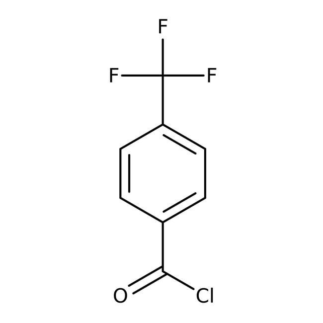 Alfa Aesar™Cloruro de 4-(trifluorometil)benzoílo, 98% 25g Alfa Aesar™Cloruro de 4-(trifluorometil)benzoílo, 98%