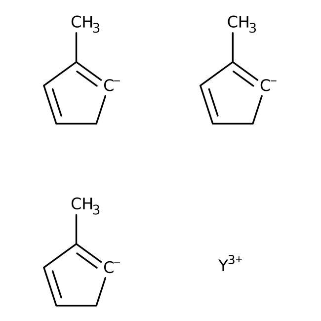 Alfa Aesar™Tris(methylcyclopentadienyl)yttrium(III), 99.9% (REO)