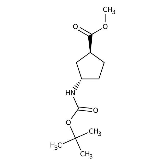 (1S,3S)-N-BOC-1-Aminocyclopentane-3-carboxylic Acid Methyl Ester 95%, (98% e.e.), ACROS Organics