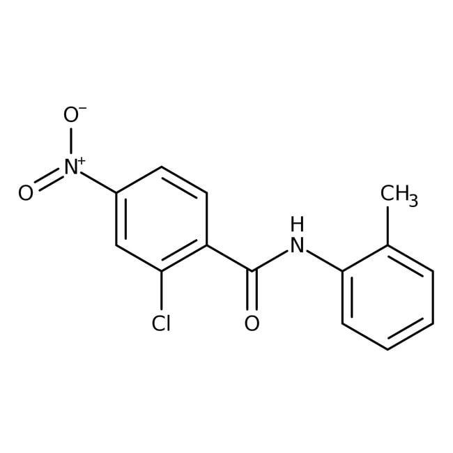 Alfa Aesar™2-Chlor-N-(2-Methylphenyl)-4-Nitrobenzamid, 97% 1g Alfa Aesar™2-Chlor-N-(2-Methylphenyl)-4-Nitrobenzamid, 97%