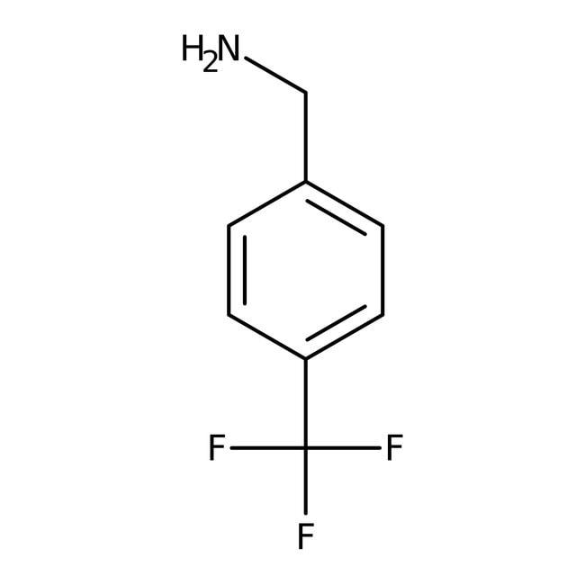 4-(Trifluoromethyl)benzylamine, 97%, ACROS Organics