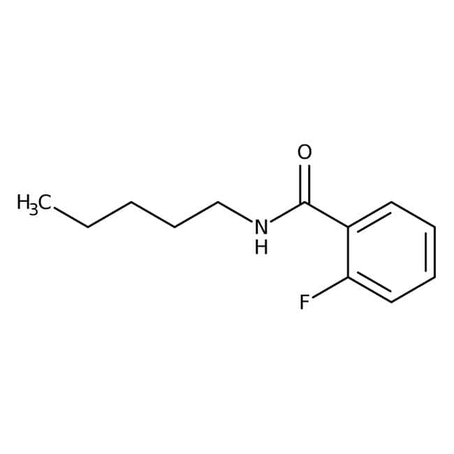 Alfa Aesar™2-Fluoro-N-n-pentylbenzamide, 97% 1g Alfa Aesar™2-Fluoro-N-n-pentylbenzamide, 97%