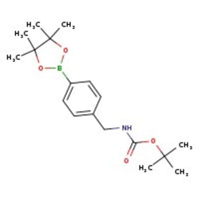 4-[(tert-Butoxycarbonylamino)methyl]phenylboronic acid pinacol ester, 97%, ACROS Organics™