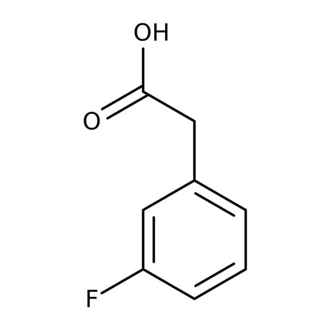 Alfa Aesar™ Acide 3-fluorophénylacétique, 98 %: Halobenzenes Benzene and substituted derivatives