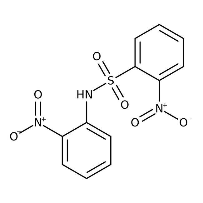 Alfa Aesar™2-Nitro-N-(2-nitrophenyl)benzenesulfonamid, 97% 1g Alfa Aesar™2-Nitro-N-(2-nitrophenyl)benzenesulfonamid, 97%