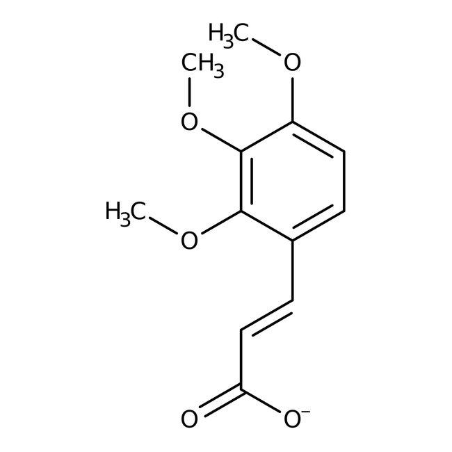 trans-2,3,4-Trimethoxycinnamic acid, 99%, ACROS Organics