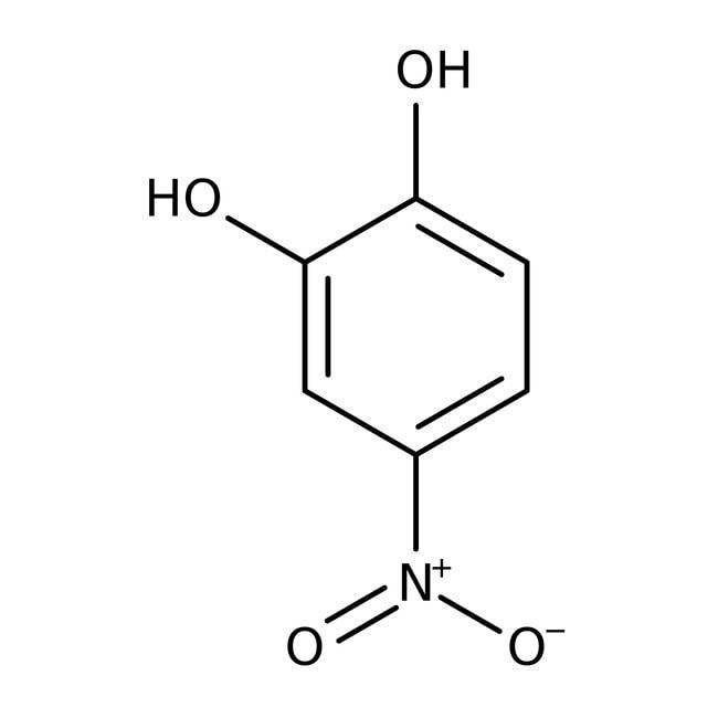 4-Nitrocatechol, 97%, ACROS Organics™ 10g; Glass bottle 4-Nitrocatechol, 97%, ACROS Organics™