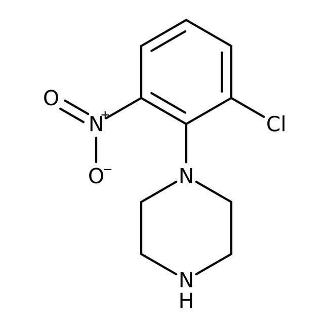 Alfa Aesar™1-(2-Chloro-6-nitrophenyl)piperazine, 97% 5g Alfa Aesar™1-(2-Chloro-6-nitrophenyl)piperazine, 97%