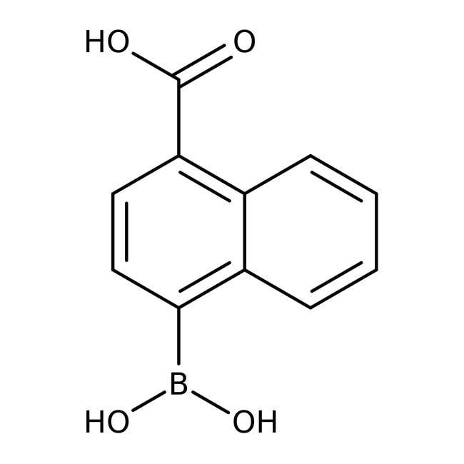 Alfa Aesar™Acide 4-carboxynaphtalène-1-boronique, 95% 250mg Alfa Aesar™Acide 4-carboxynaphtalène-1-boronique, 95%