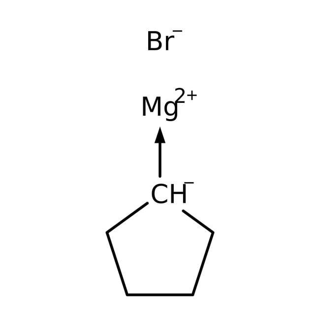 Cyclopentylmagnesium bromide, 2.0M solution in diethyl ether, AcroSeal™, ACROS Organics™