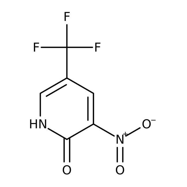 Alfa Aesar  2-Hydroxy-3-nitro-5-(trifluoromethyl)pyridine, 97%