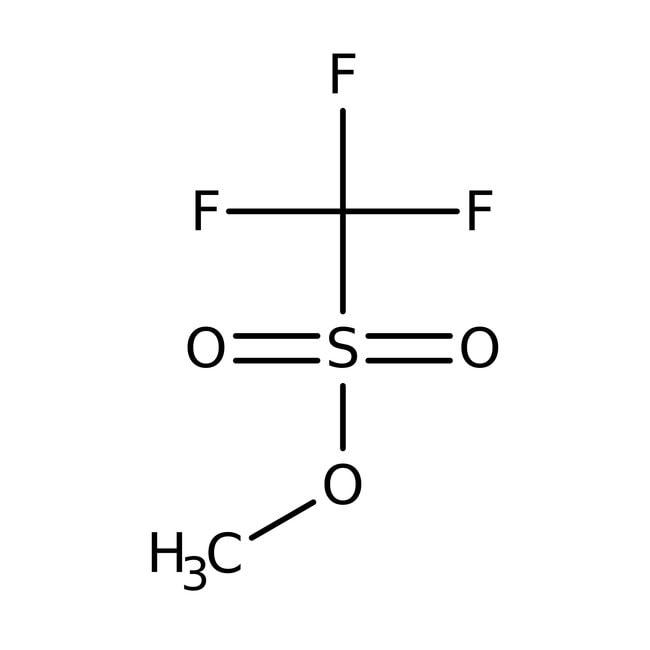 Alfa Aesar™Methyltrifluormethansulfonat, 98%: Alkanesulfonic acids and derivatives Organosulfonic acids and derivatives