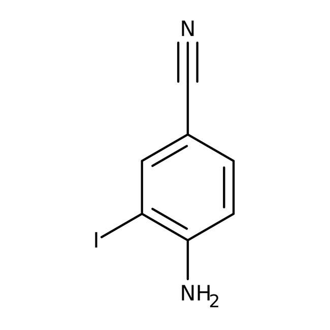Alfa Aesar™4-Amino-3-iodobenzonitrile, 97%