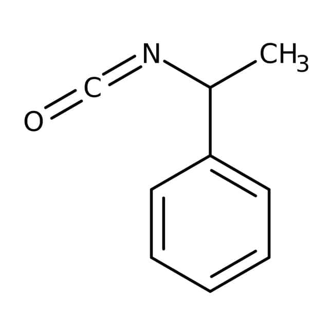 (R)-(+)- -Methylbenzyl isocyanate, 98%, ACROS Organics