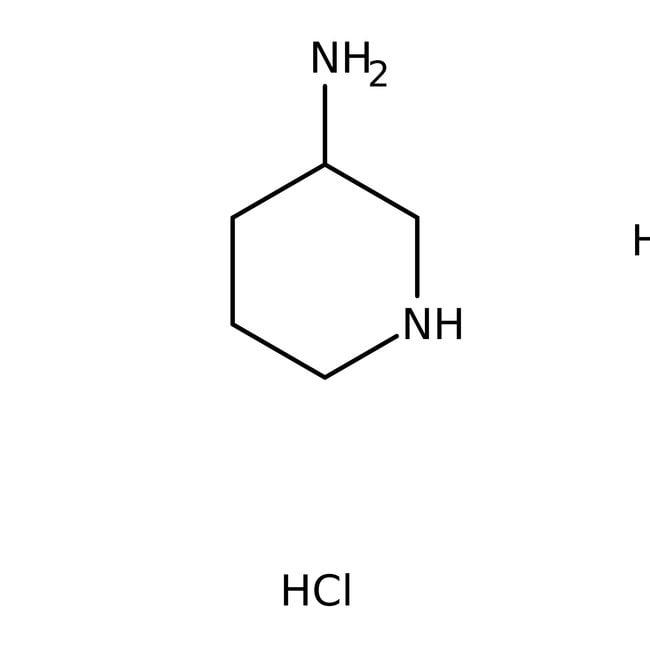 (R)-(-)-3-Piperidinamine dihydrochloride, 97%, ACROS Organics™