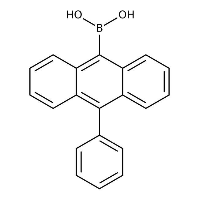Alfa Aesar™10-Phenylanthracen-9-Boronsäure, 98 % 1g Alfa Aesar™10-Phenylanthracen-9-Boronsäure, 98 %