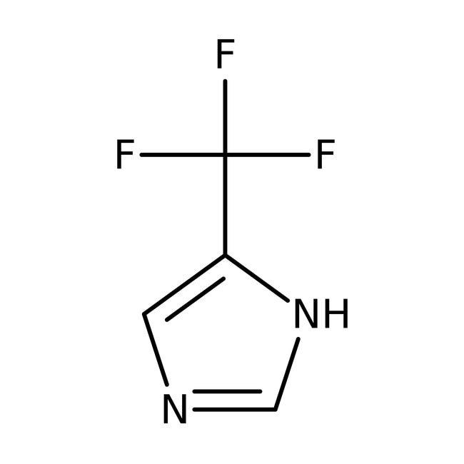 Alfa Aesar™4-(Trifluoromethyl)imidazole, 98% 5g Alfa Aesar™4-(Trifluoromethyl)imidazole, 98%
