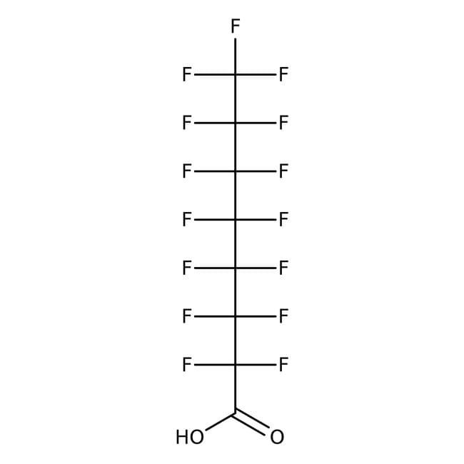 Pentadecafluorooctanoic acid, 96%, ACROS Organics