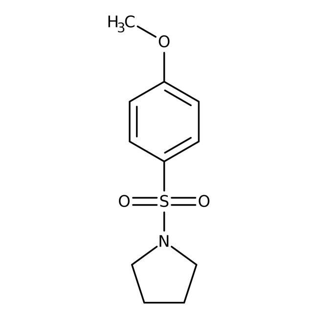 Alfa Aesar™1-(4-Methoxyphenylsulfonyl)pyrrolidine, 97%
